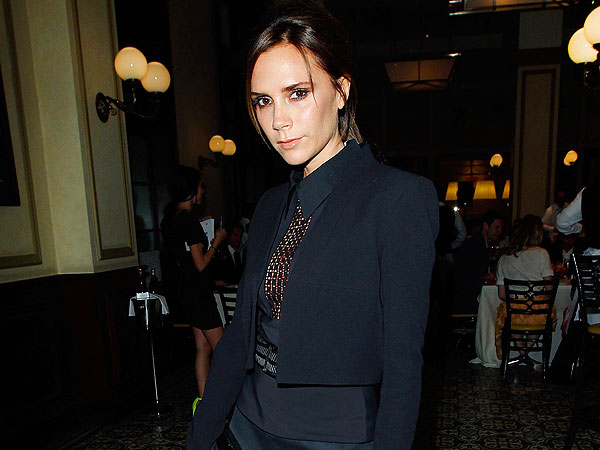 Victoria Beckham Gets Dressed in the Dark in Beverly Hills