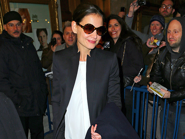 Katie Holmes in &#39;Good Spirits&#39; at Dead Accounts After-Party in N.Y.C