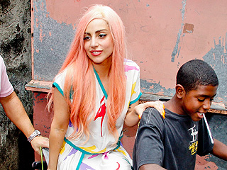 Lady Gaga Hangs With Locals in Rio | Lady Gaga