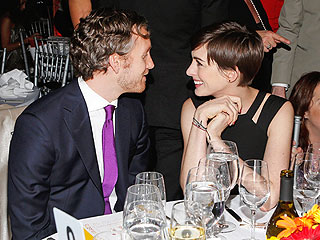 Anne Hathaway & Adam Shulman 'So Happy' in New York | Adam Shulman, Anne Hathaway