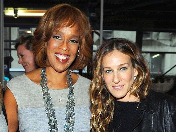 Sarah Jessica Parker & More Power Lunch in N.Y.C.