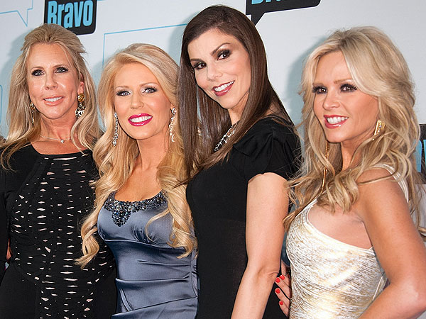 Real Housewives of Orange County Cast Heats Up Hot in Cleveland Set!