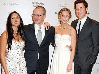 Inside the Gotham Film Awards Honoring Matt Damon, Marion Cotillard & More | Emily Blunt, John Krasinski, Matt Damon