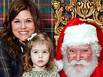 90210 Stars Reunite at Santa's Workshop in L.A. | Tiffani Thiessen