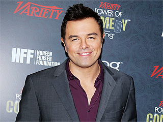 Seth MacFarlane&#39;s Santa Monica Dinner Date: A Blonde (Not a Bear) | Seth MacFarlane