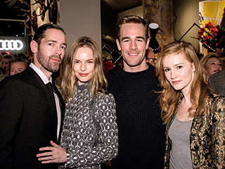 Which Stars Escaped to Aspen Together? | James Van Der Beek, Kate Bosworth, Michael Polish