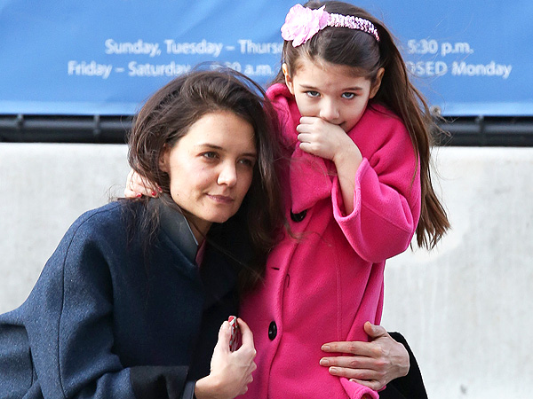 Katie Holmes Celebrates Her Birthday with Suri