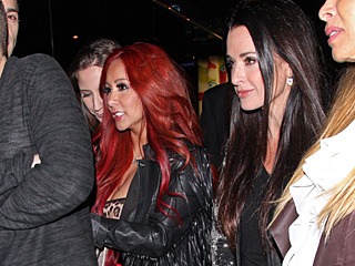 You'll Never Guess Who Snooki Partied with This Week | Deena Cortese, Kyle Richards, Nicole Polizzi
