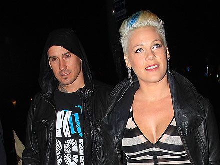 Pink & Carey's Late-Night Party in Sin City