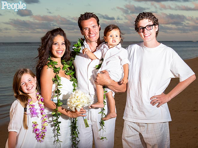See the actor and bride Cheryl Moana Marie celebrate their love in a    Antonio Sabato Jr Kids