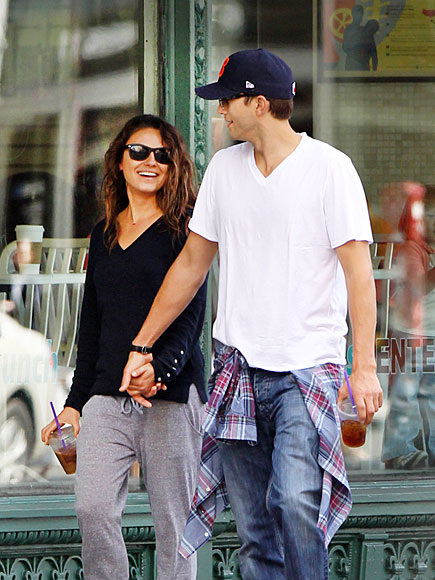 4. IN STEP photo | Ashton Kutcher, Mila Kunis