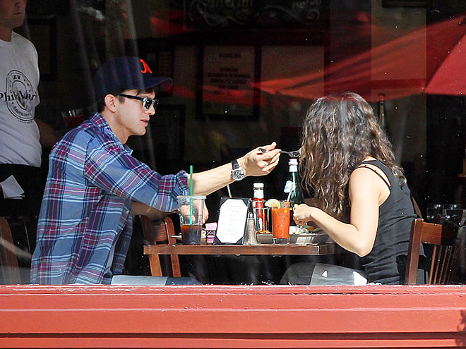 1. BREAKFAST OF CHAMPIONS photo | Ashton Kutcher, Mila Kunis