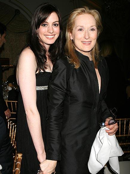 photo   Anne Hathaway, Meryl Streep