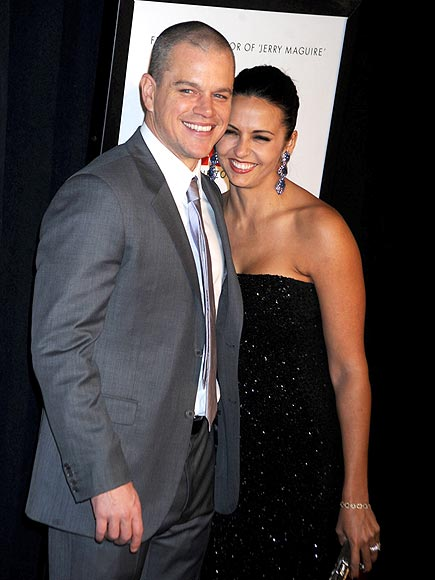photo | Luciana Barroso, Matt Damon