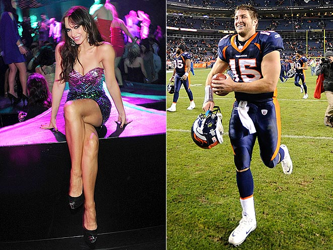 photo | Karina Smirnoff, Tim Tebow