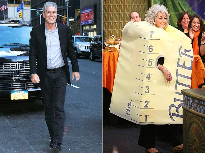 photo | Anthony Bourdain, Paula Deen
