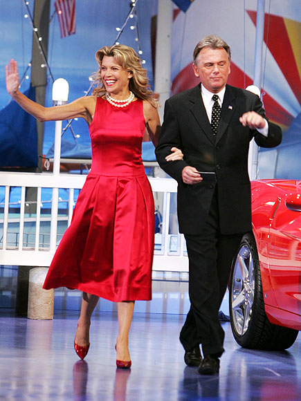 photo | Pat Sajak, Vanna White