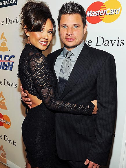 photo | Nick Lachey, Vanessa Minnillo