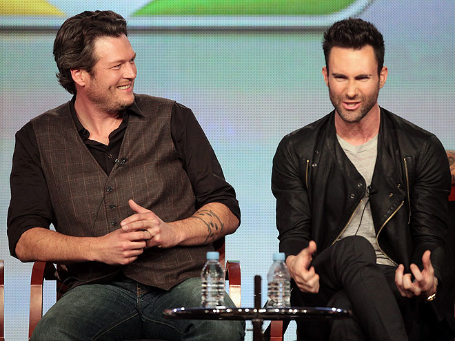 photo | Adam Levine, Blake Shelton