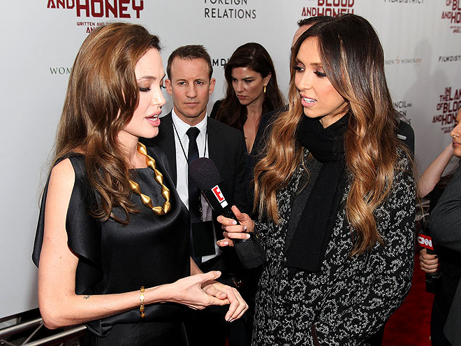  photo | Angelina Jolie, Giuliana Rancic