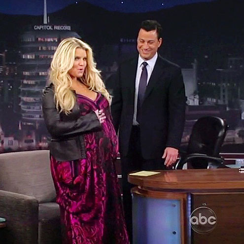 photo | Jessica Simpson, Jimmy Kimmel