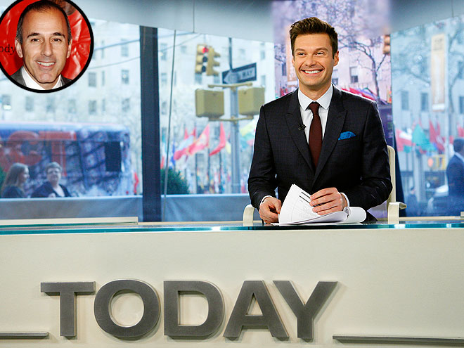 photo | Matt Lauer, Ryan Seacrest