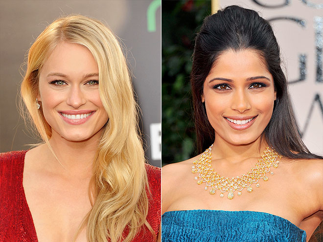 photo | Freida Pinto, Leven Rambin