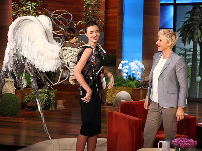 photo | Ellen DeGeneres, Miranda Kerr
