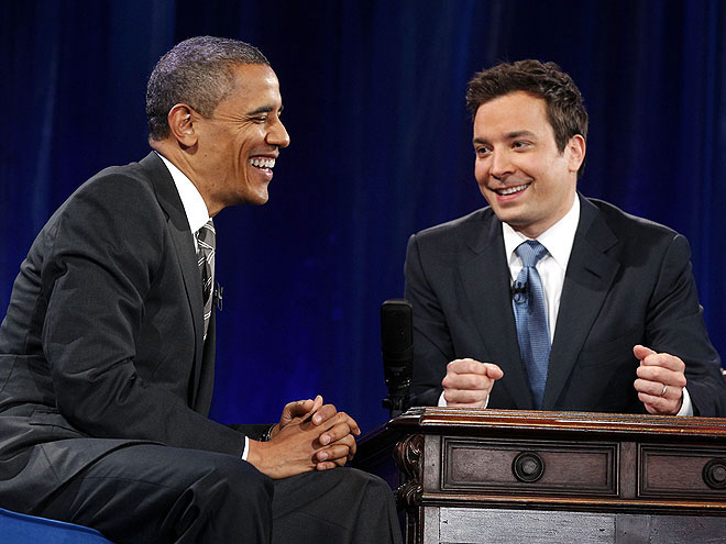 photo | Barack Obama, Jimmy Fallon