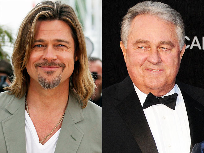 Photo of Brad Pitt & his  Father  Bill Pitt