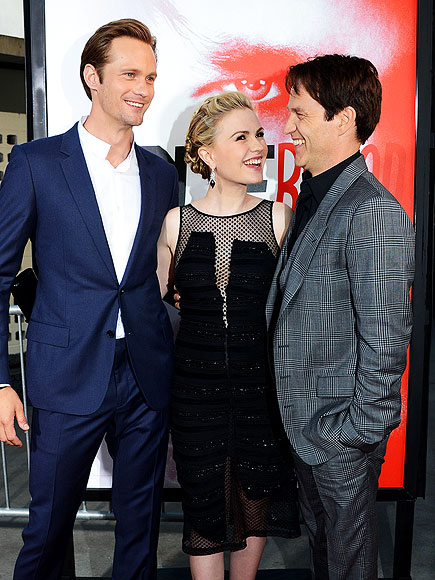 photo | Alexander Skarsgard, Anna Paquin, Stephen Moyer