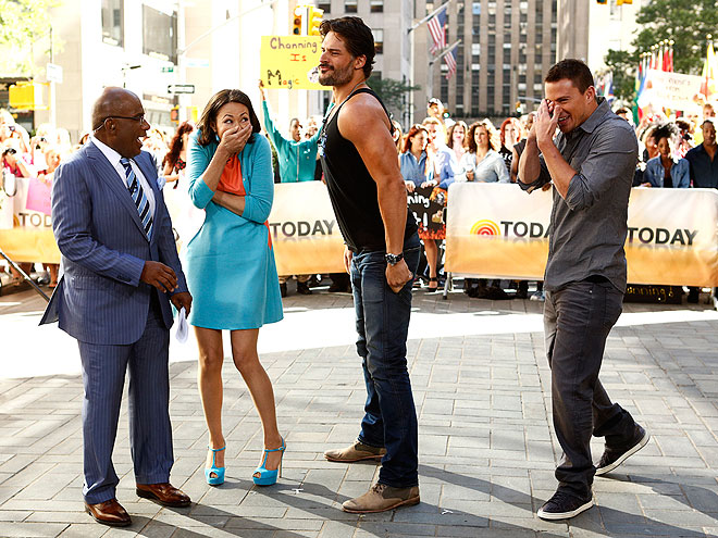 photo | Al Roker, Ann Curry, Channing Tatum, Joe Manganiello
