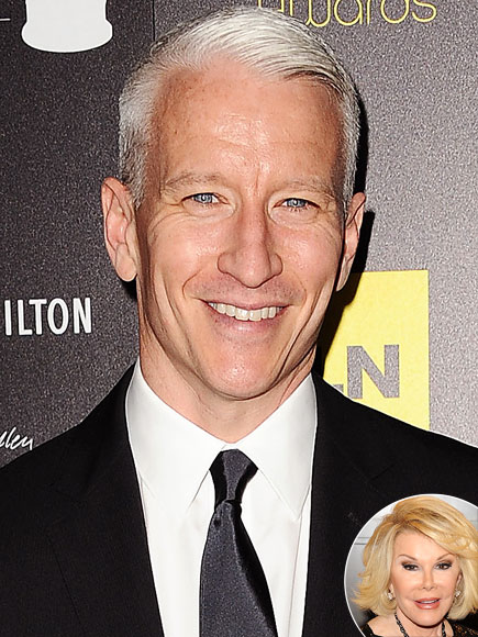photo | Anderson Cooper, Joan Rivers