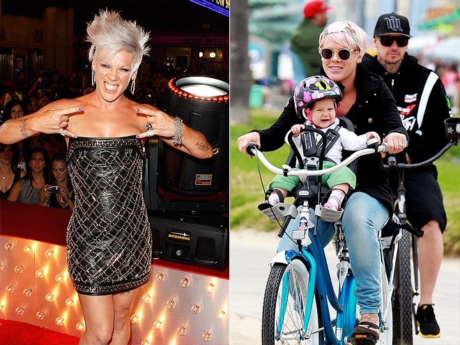  photo | Carey Hart, Pink
