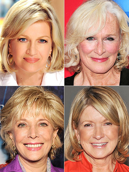 photo | Diane Sawyer, Glenn Close, Martha Stewart