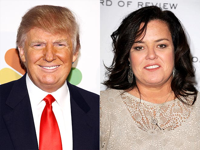 photo | Donald Trump, Rosie O'Donnell