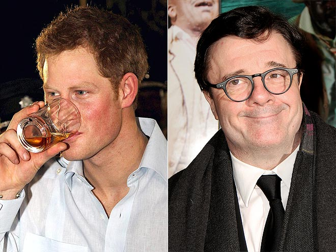 photo | Nathan Lane, Prince Harry