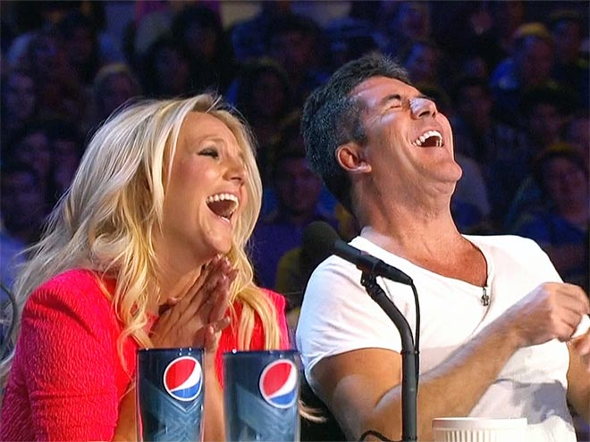  photo | Britney Spears, Simon Cowell