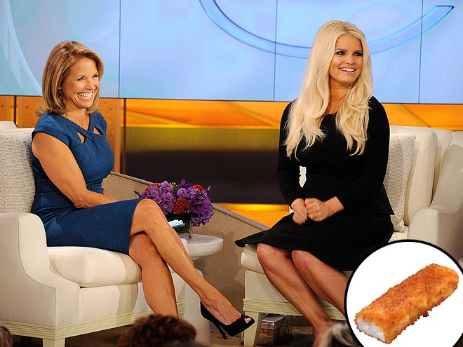 photo | Jessica Simpson, Katie Couric