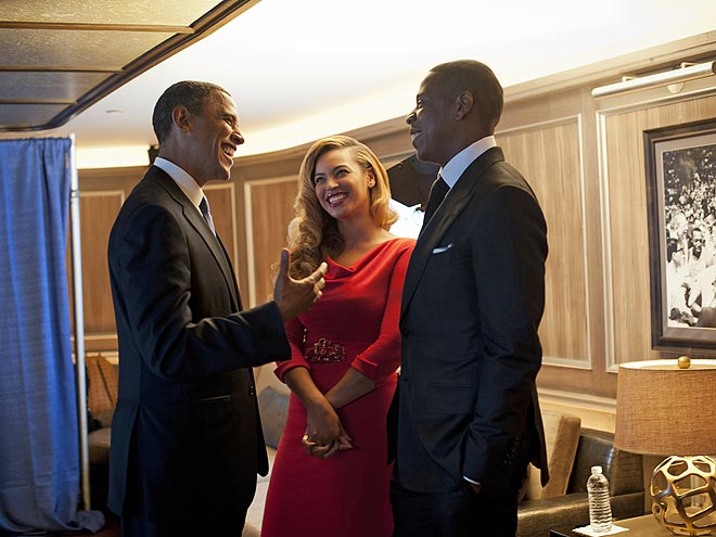 photo | Barack Obama, Beyonce Knowles, Jay-Z