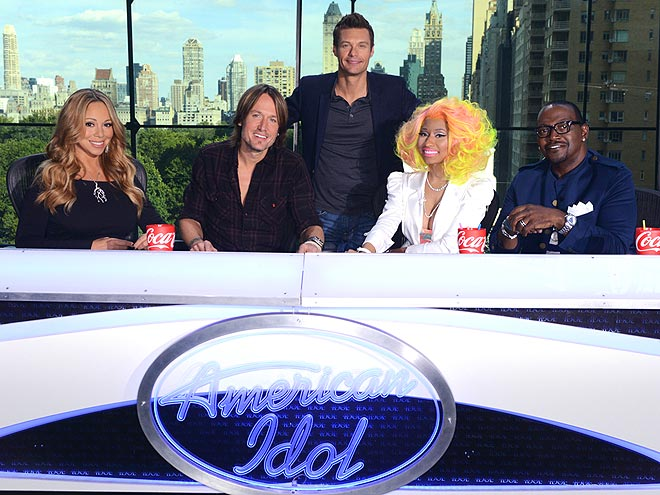 photo | Keith Urban, Mariah Carey, Nicki Minaj, Randy Jackson, Ryan Seacrest