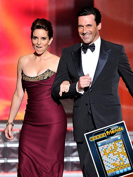 photo | Jon Hamm, Tina Fey