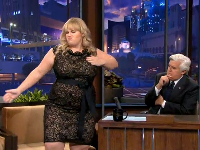 photo | Jay Leno, Rebel Wilson