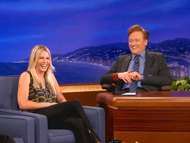 photo | Chelsea Handler, Conan O'Brien