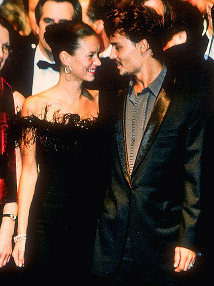 photo | Johnny Depp, Kate Moss