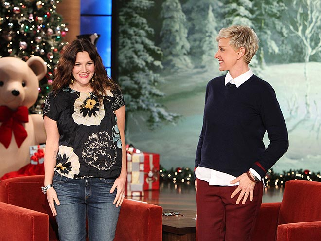 photo | Drew Barrymore, Ellen DeGeneres