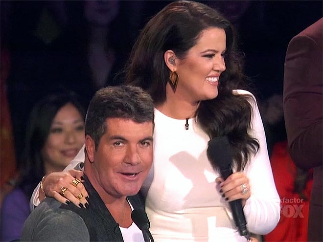 photo | Khloe Kardashian, Simon Cowell