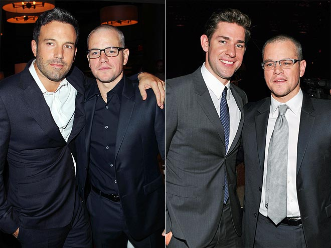 photo | Ben Affleck, John Krasinski, Matt Damon