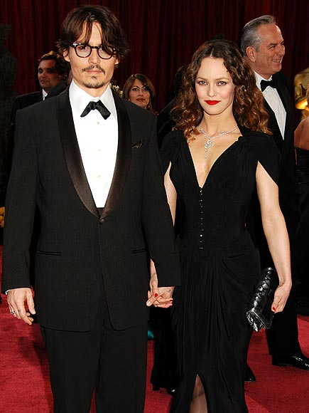 JOHNNY DEPP & VANESSA PARADIS 