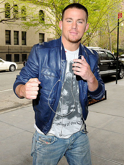 GETTING PUNCHY   photo | Channing Tatum